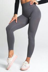 Gym Glamour Legíny Bezšvové Silvery