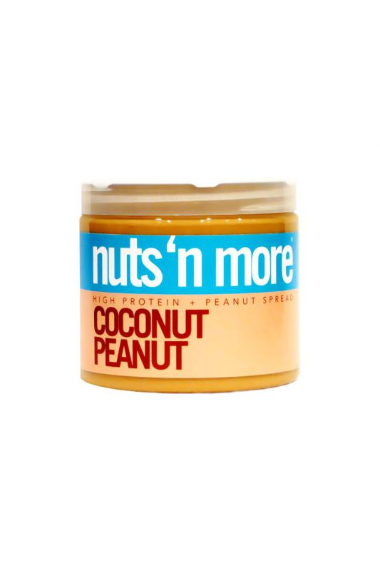Nuts`N more Arašídové maslo kokos s proteínom
