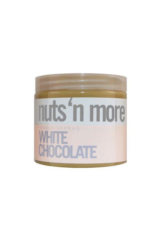 Nuts`N more Arašídové maslo biela čokoláda