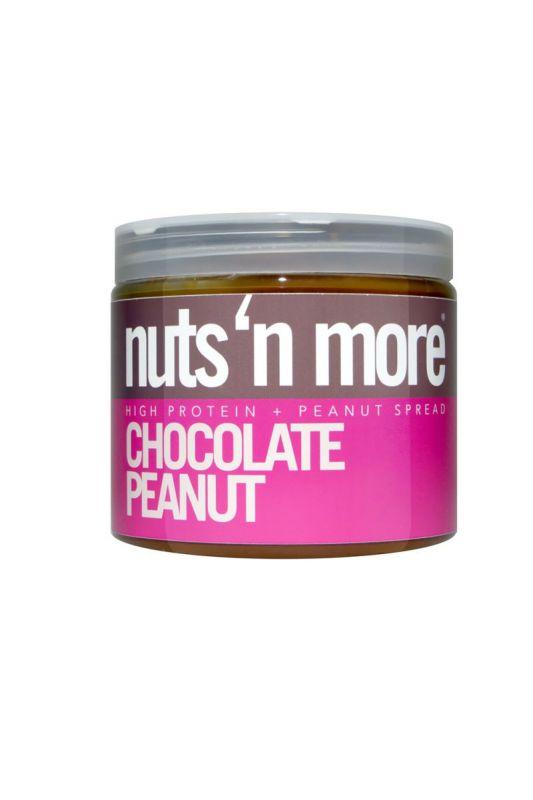 Nuts`N more Arašídové maslo čokoláda s proteinom