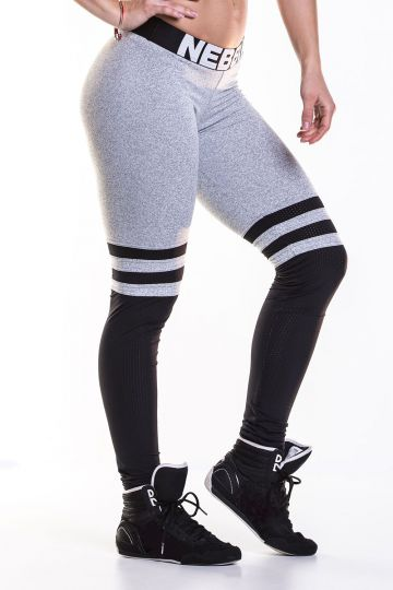 NEBBIA Over the knee Leggings 286 - Grey