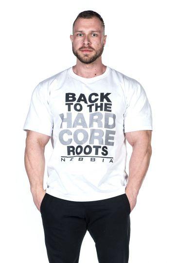 Nebbia Hard Core T-Shirt 391 - Weiss