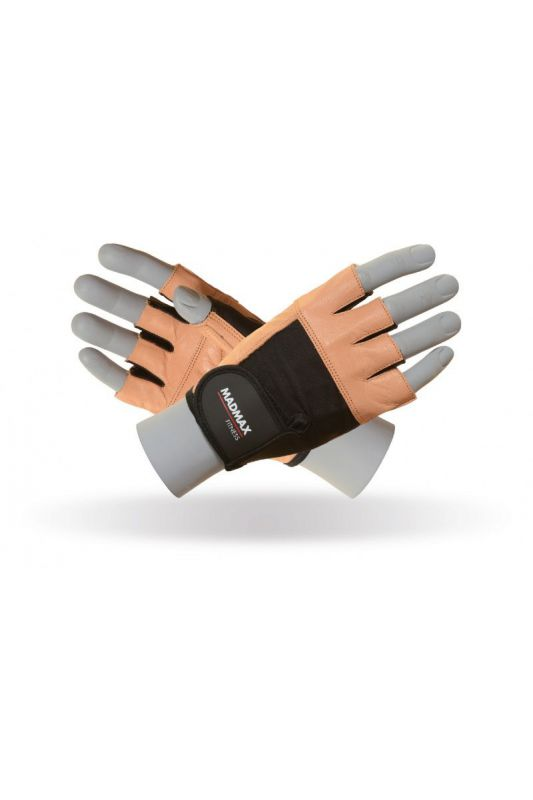 MadMax Fitness Natural Brown handschuh