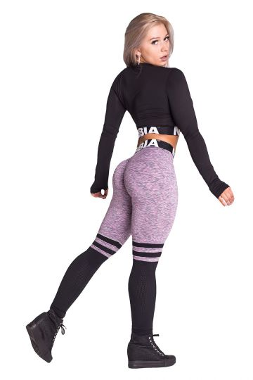 NEBBIA Over the knee - Lila leggings 286