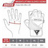 RDX Leather Bodybuilding Gym Weight Lifting Rukavice
