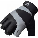 RDX Ferris Fitness Leather S14 GRAY Handschuhe
