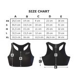 Anarchy Apparel Commando Sport Bra Gray