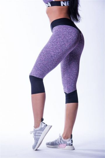 NEBBIA Hight Waist Damen ¾ Leggings 607