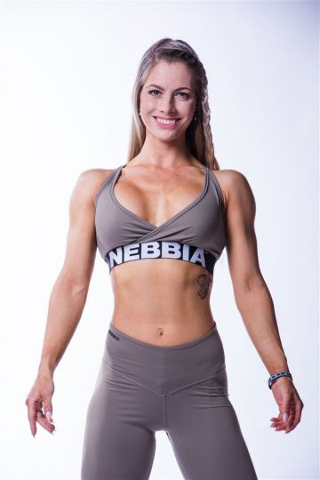 NEBBIA Open Back Damen Mini Top 620