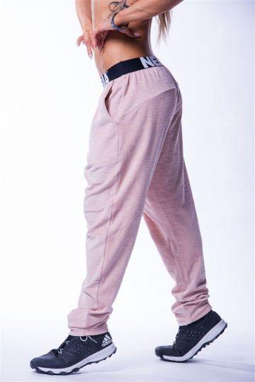 NEBBIA Drop Crotch Velvet Damen Sporthose 611