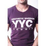 NEBBIA Atheltic Logo tričko 730