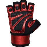 RDX Fitness rukavice s bandážou na zápästie L8