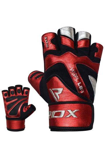 RDX Fitness kesztyű csuklóbandázzsal L8