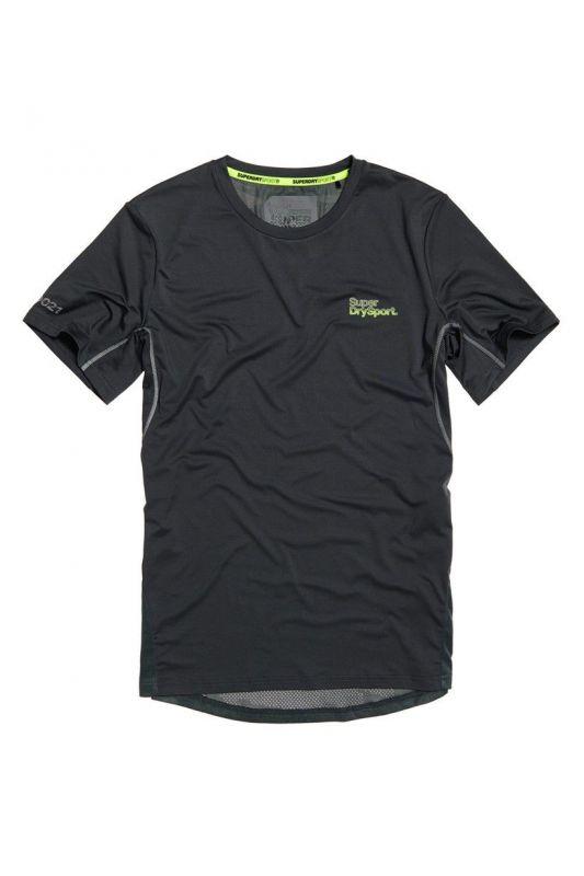 Pánske športové tričko ACTIVE CAMO JACQUARD