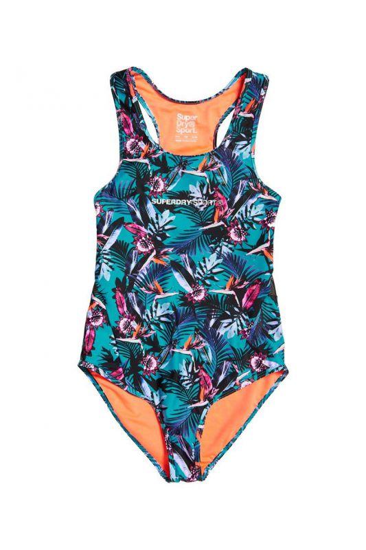 Dámske plavky Superdry Jungle Pattern